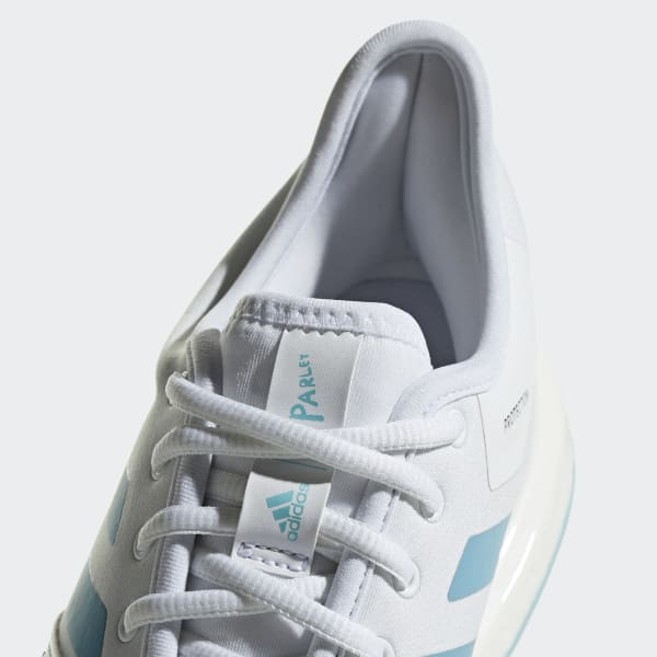 adidas Obuv SoleCourt Boost Parley - bílá  680ace173fb