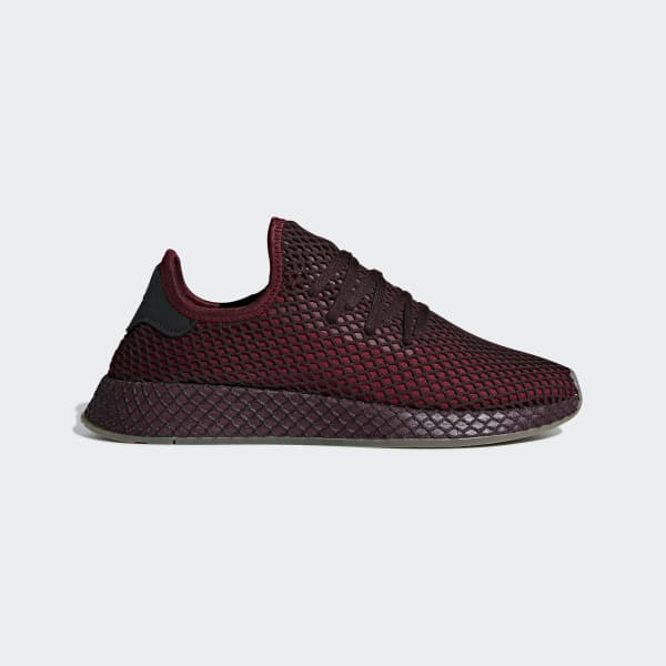 Adidas Deerupt Runner Shoes Red Adidas Us