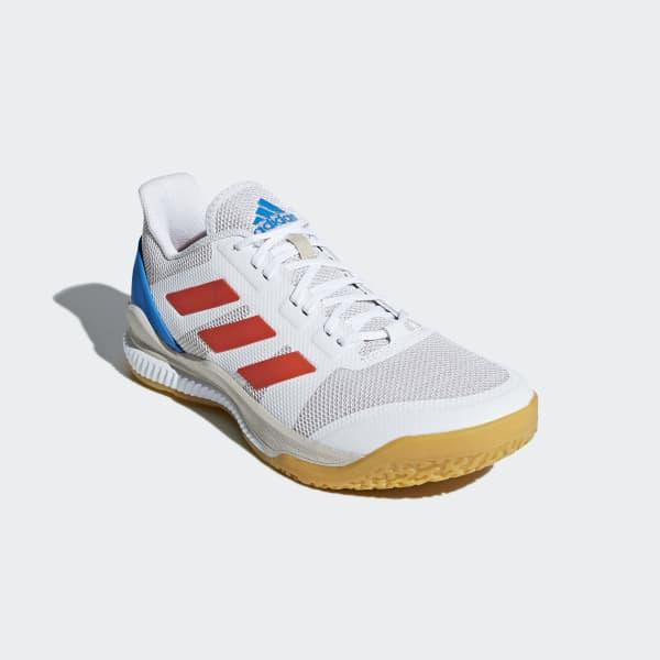 24d89af8b97 adidas Obuv Stabil Bounce - bílá