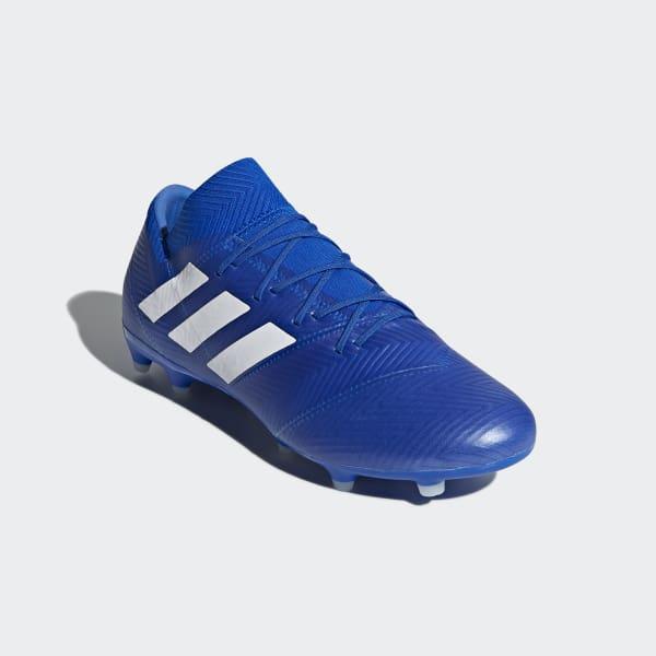 bd23fdb9131 Bota de fútbol Nemeziz 18.2 césped natural seco - Azul adidas ...