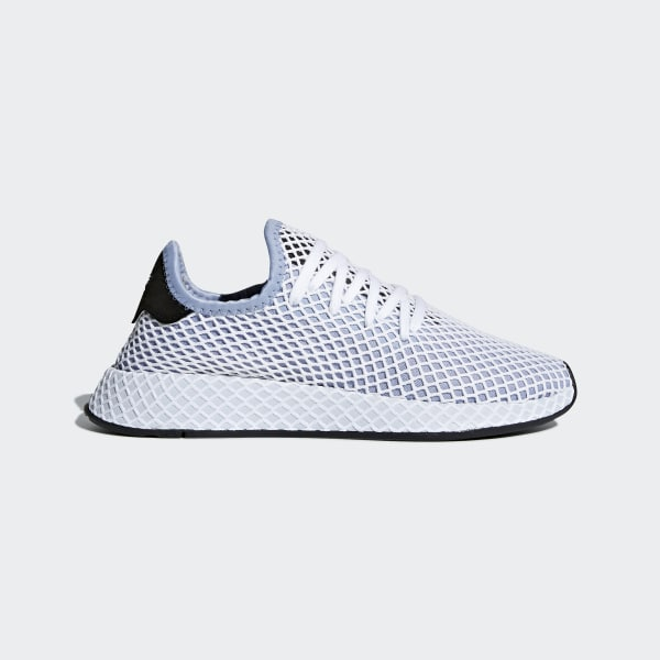 adidas Deerupt Runner Shoes - Blue | adidas US | Tuggl