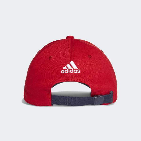 Boné 3-Stripes FC Bayern - Vermelho adidas  ecaff3d9f11
