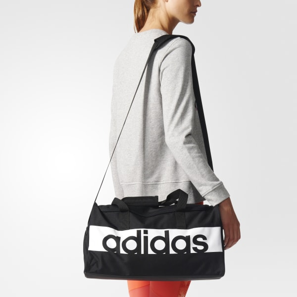 adidas Linear Performance Duffel Bag Small - Black  18a16b2819fd2