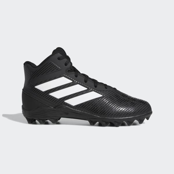 adidas Freak Mid Molded Cleats - Black