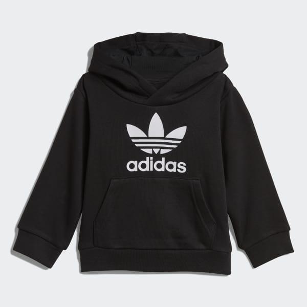 756ead4d adidas Комплект: худи и брюки Trefoil - черный | adidas Россия