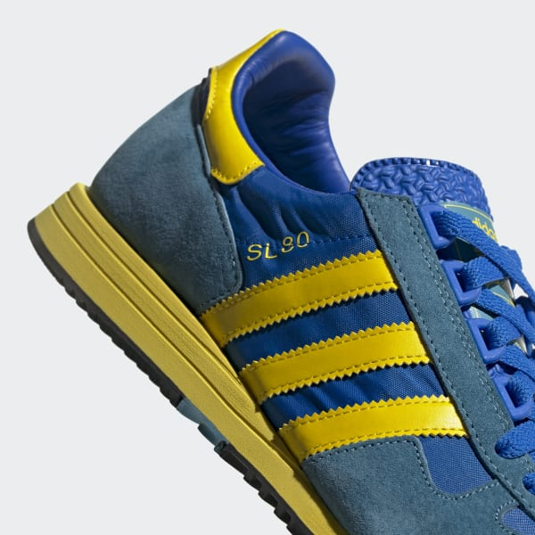adidas la trainer blu gialle