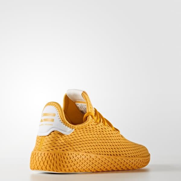 separation shoes 2b2c5 f9328 adidas Pharrell Williams Tennis Hu Shoes - Yellow  adidas US