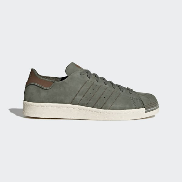 adidas Superstar 80s Decon Base Green Base Green Noble Red