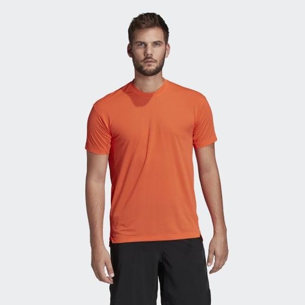 Son Reproducir basura  adidas Terrex Agravic Trail Running T-Shirt - Orange | adidas UK