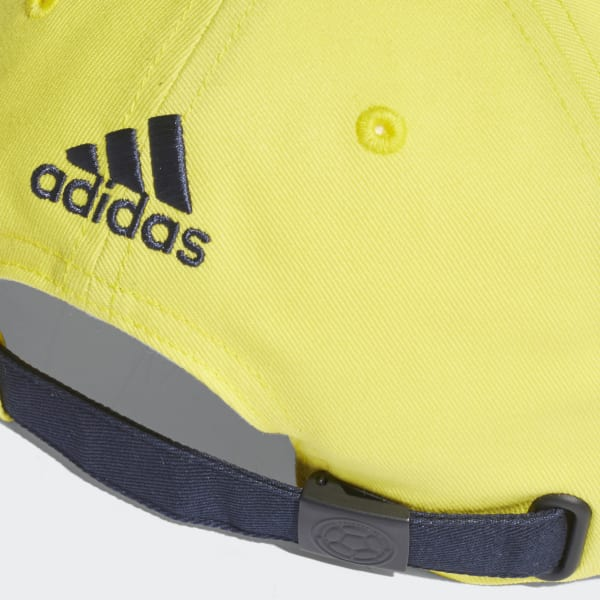 973313ee06a0d6 adidas Colombia 3-Stripes Hat - Yellow | adidas US