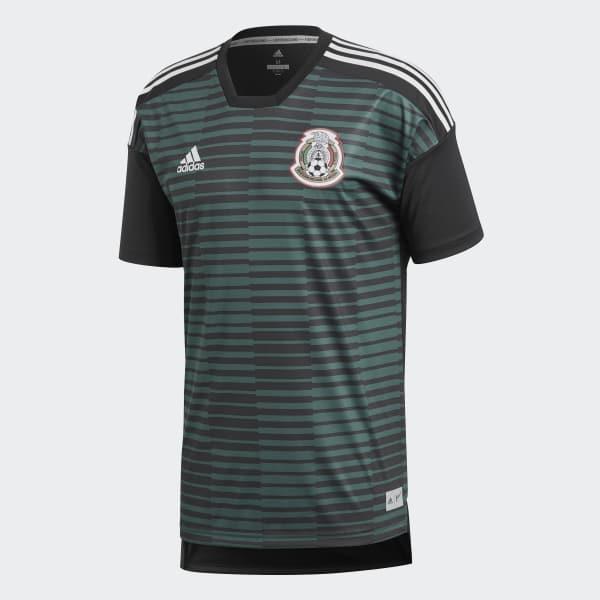 adidas Jersey Prepartido Selección de México Local 2018 - Verde ... fb11b7c6fff07
