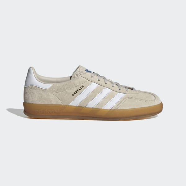 adidas Gazelle Indoor Shoes - Beige