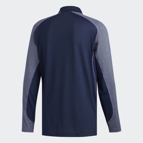 adidas Mens climacool Lightweight Blue Polyester Tennis Training Polo Shirt