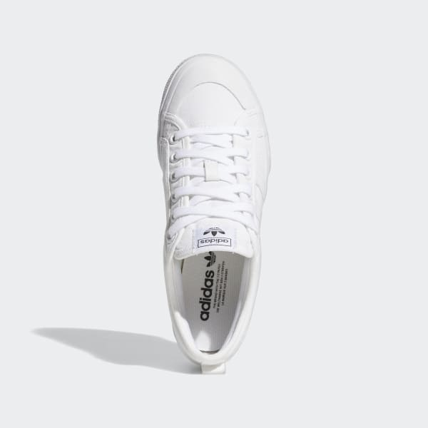 adidas platform white