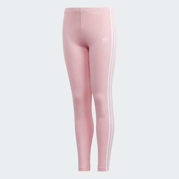 3914f7d5bbdf2 adidas 3-Stripes Leggings - Pink | adidas UK