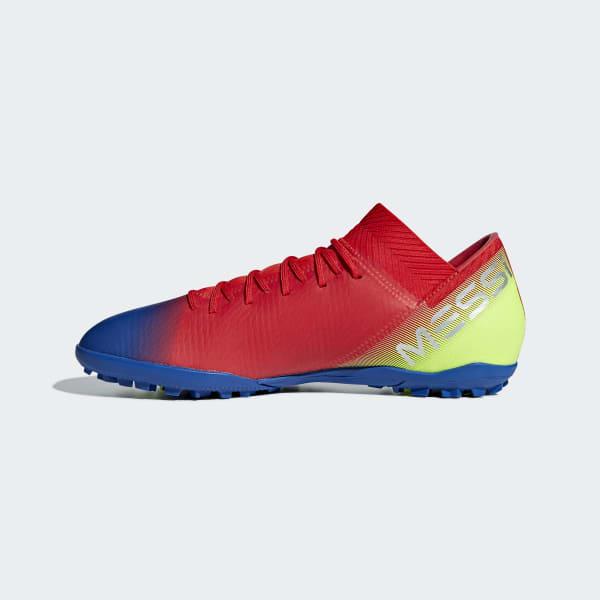 1e6d0954dee adidas Calzado de Fútbol NEMEZIZ MESSI 18.3 TF - Rojo | adidas Mexico