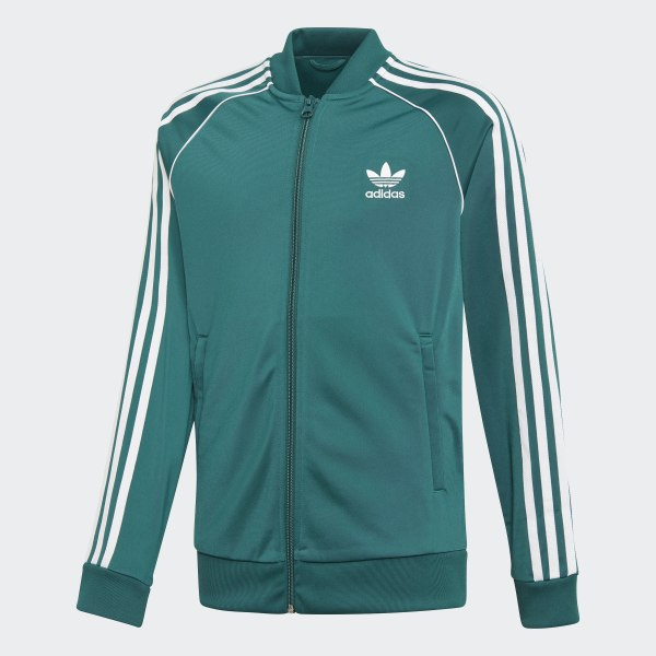 adidas SST Track Jacket Green | adidas US