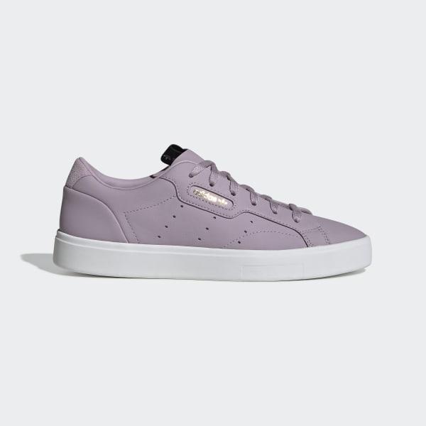 adidas schoenen paars zwart heren