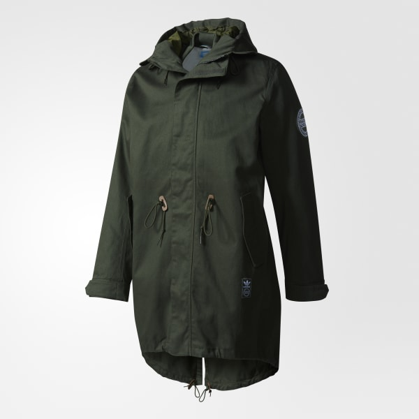 adidas Utility Two in One Parka Green | adidas US