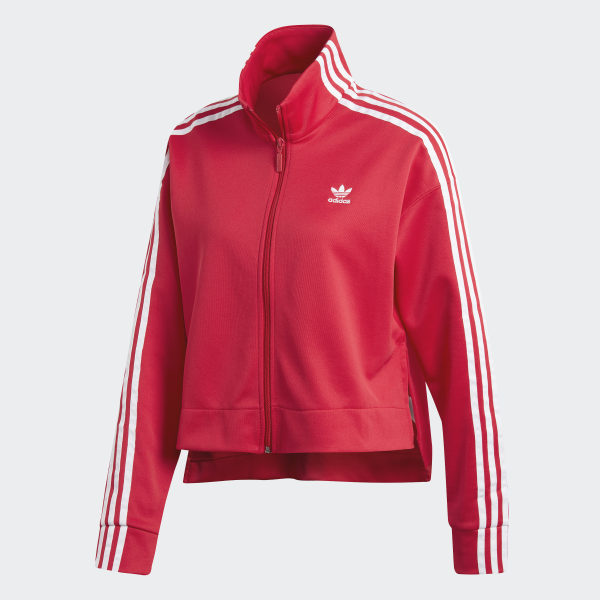 Adidas Black Jacket With Red Stripes energie