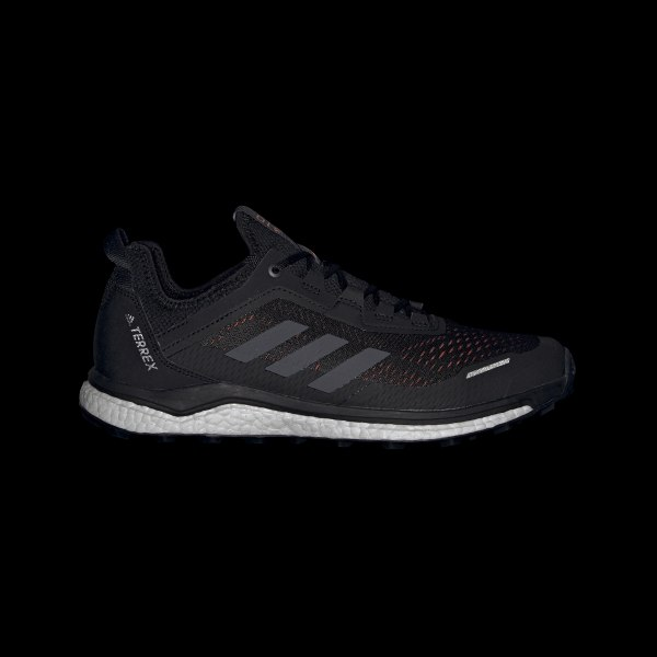 adidas Terrex Agravic Flow Women's Trail Shoe Core BlackGrey TwoGrey Four