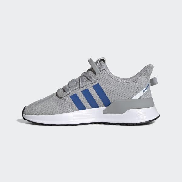 Adidas Materials Men Grey Light Section Blue Large Running