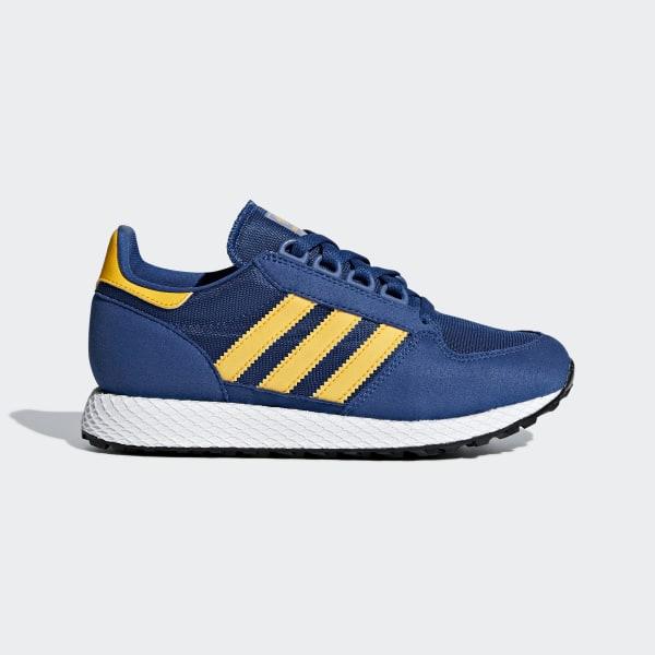 adidas Originals Royal Blue and Yellow Forest Grove 2V