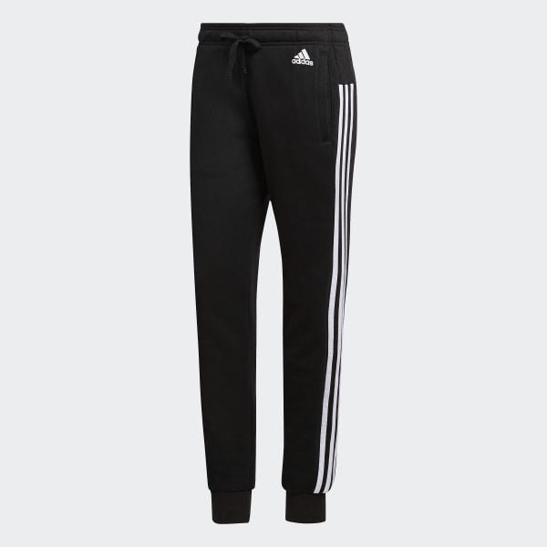 adidas Essentials 3 Stripes Pants Black | adidas US