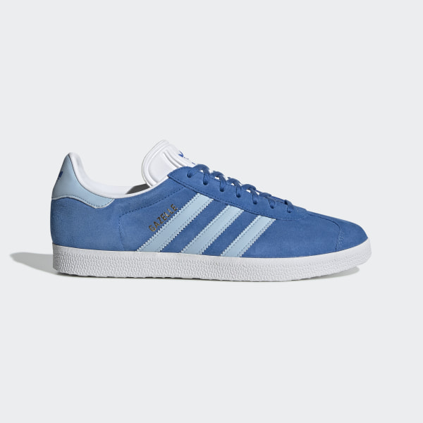blaue adidas schuhe mit blumen