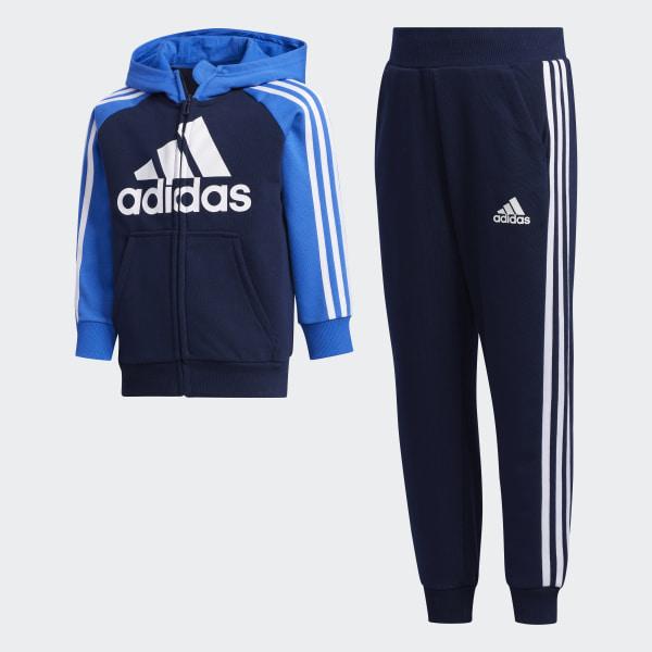 adidas Jungen Little Boys Knitted Trainingsanzug