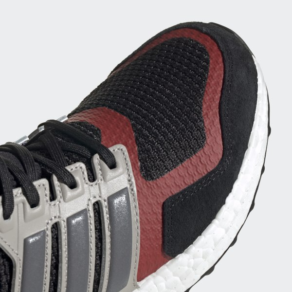 Adidas Ultra Boost S&L Core Black Grey Four Power Red EF0724 Footwear Men's Running Shoes EF0724