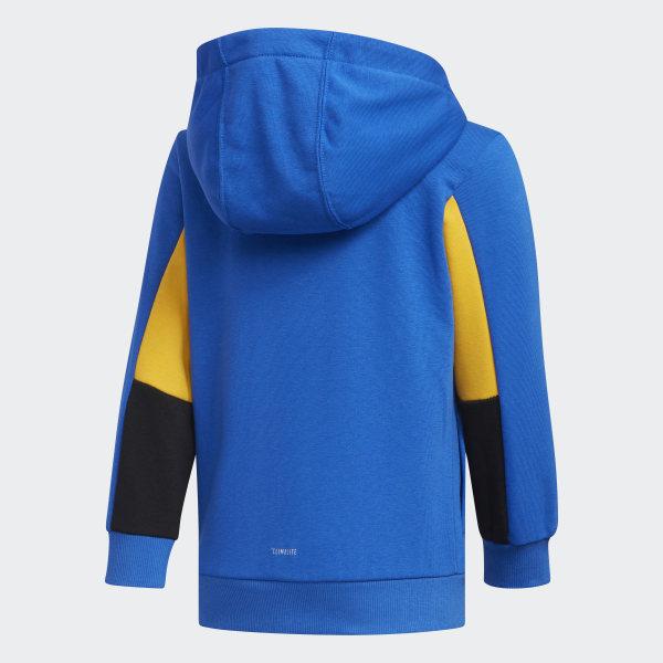 adidas blå climalite jacka