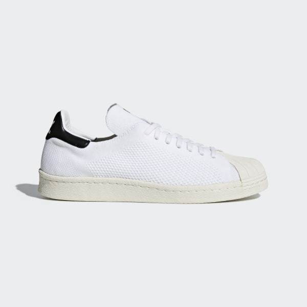 adidas Superstar 80s Primeknit Shoes White | adidas UK