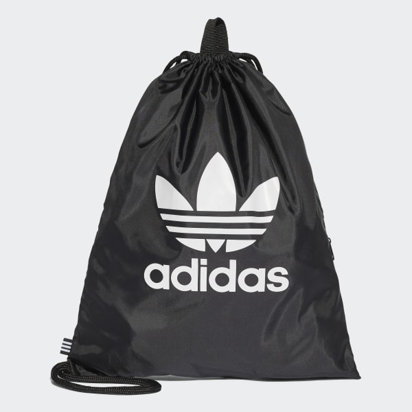 adidas Trefoil Gym Sack - Black | adidas UK