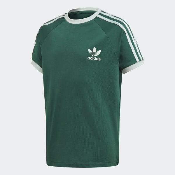 adidas 3-Stripes Shirt - Groen | adidas Officiële Shop