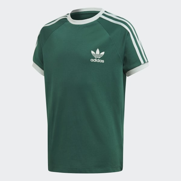 Adidas originals t shirt 3 stripes dame collegiate