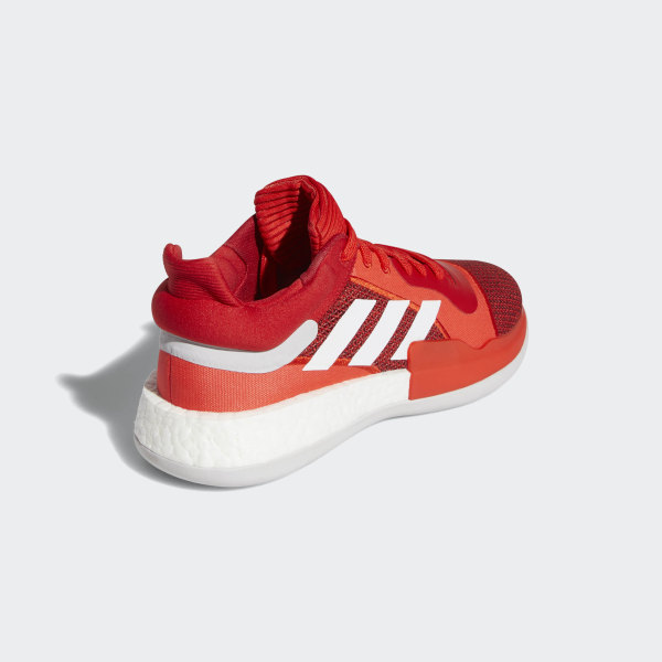 adidas Marquee Boost Low Shoes Red | adidas Australia