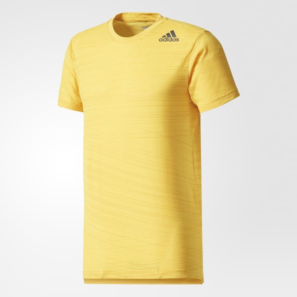 adidas Aeroknit T Shirt Boys Orange, Golden Yellow