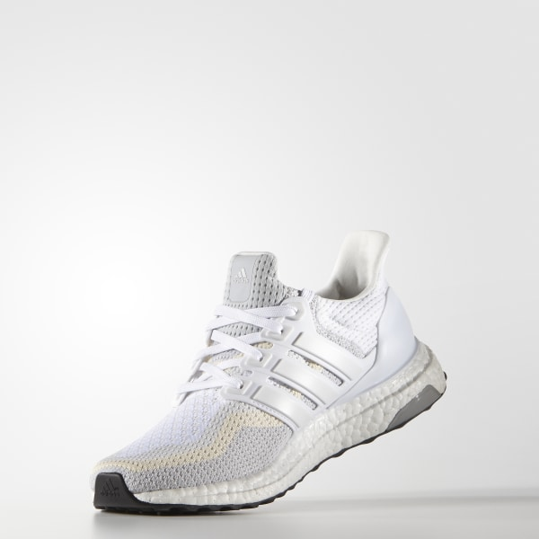 Details about adidas Ultra Boost 2.0 Womens White Grey Running Shoes AF5142 UltraBOOST