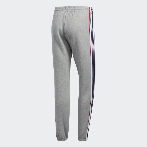 Adidas 3 Stripes Tight Leggings Medium Grey Heather