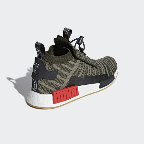 adidas NMD_TS1 Primeknit Shoes Green | adidas US