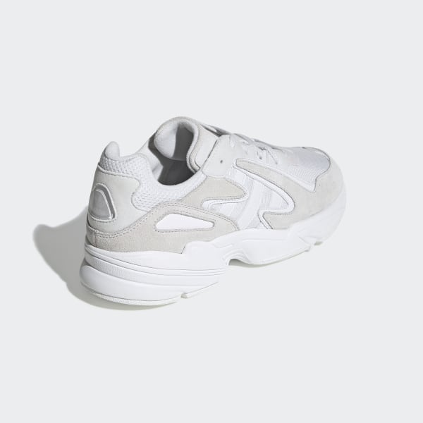 Udsalg Adidas Originals Sko,Adidas Yung 96 Mænd Hvide