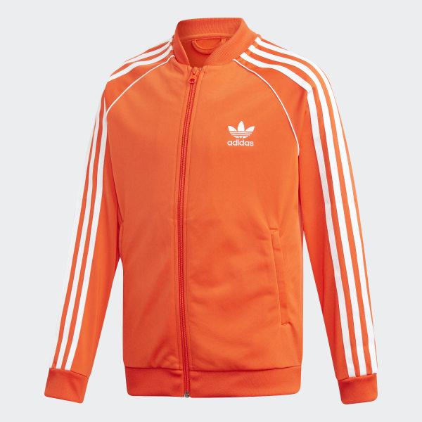 chaqueta adidas naranja