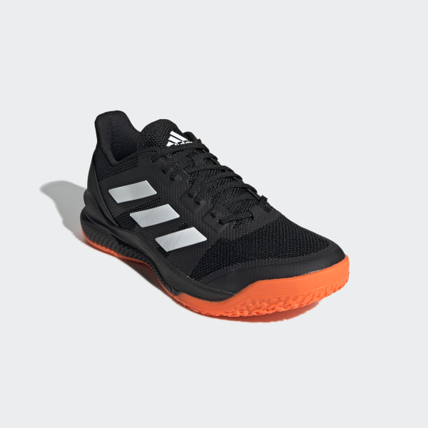 adidas Mens Stabil Bounce Indoor Court Shoes Black Sports Tennis Handball