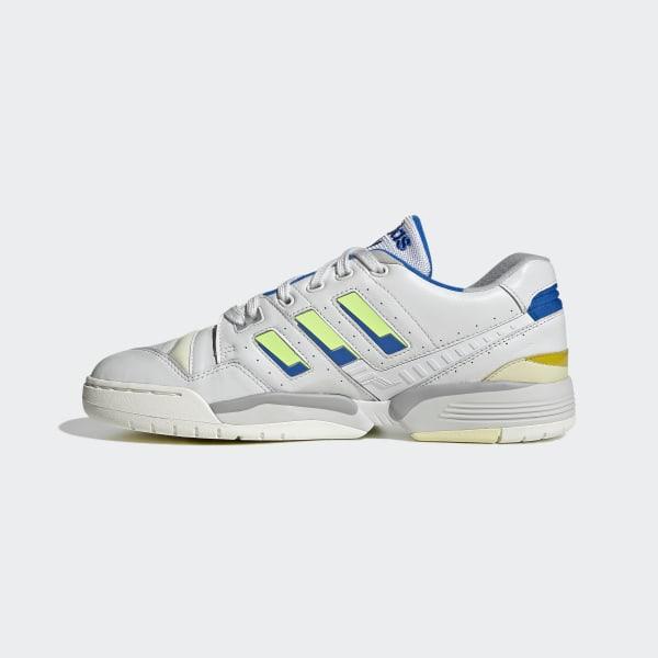 adidas Torsion Comp (white blue) | 43einhalb Sneaker Store