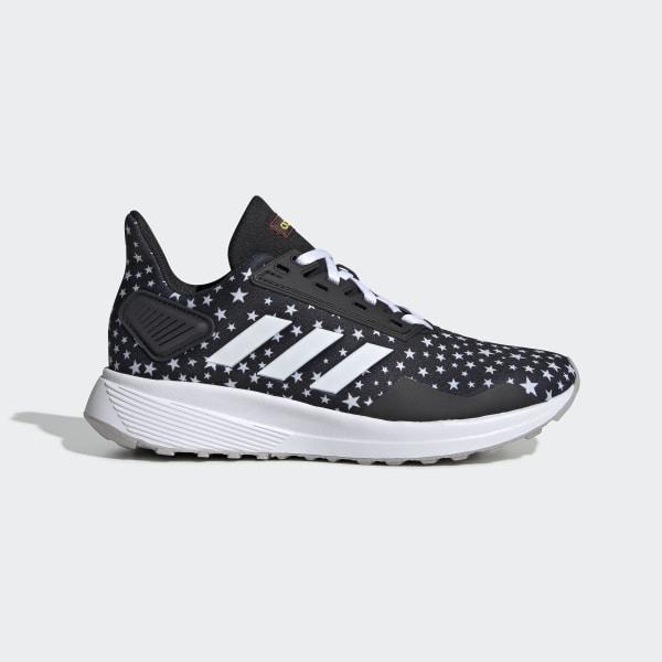 Zapatillas adidas Duramo 9 K Infanti Negro y Blanco