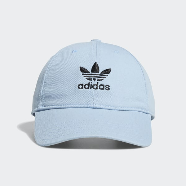 Back US adidas Relaxed Originals Strap Hat Blueadidas 7f6gby