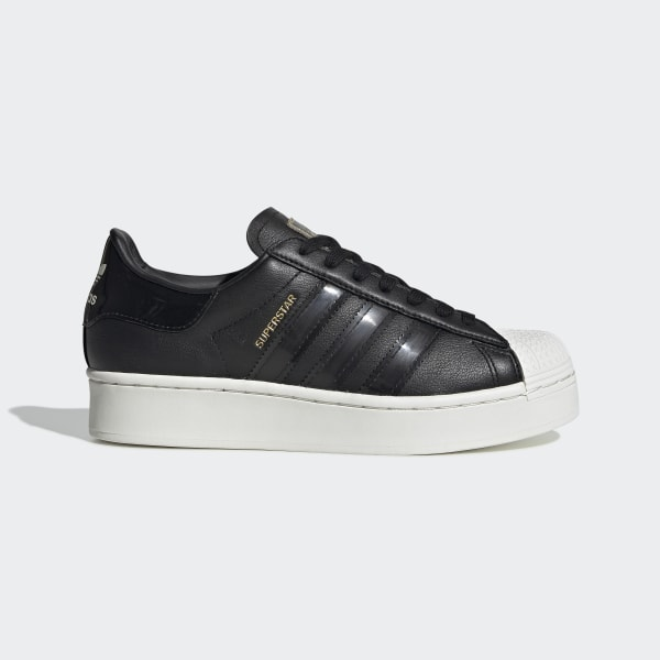 Superstar Bold Schoenen Core Black / Off White / Gold Metallic FV3354