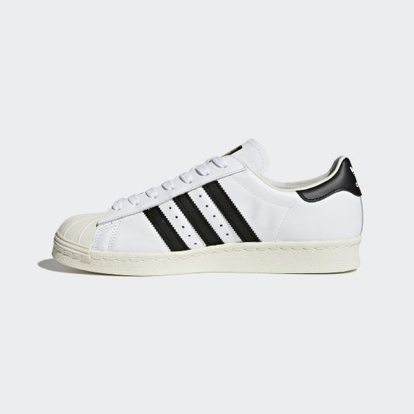 adidas superstar 1 bianca nero foundation size 6