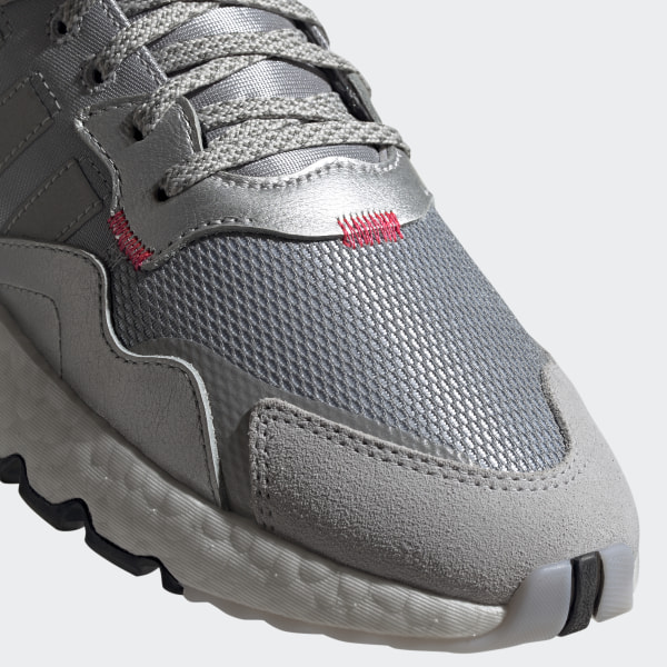 Nite Jogger Shoes Silver Mens | Joggers shoes, Silver shoes